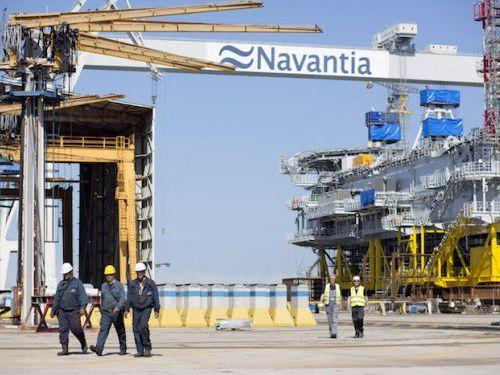 Astilleros Navantia Puerto del Real